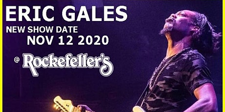 ERIC GALES tickets