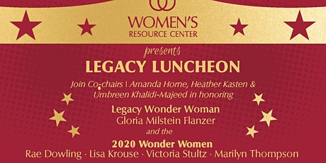 2020 Legacy Luncheon tickets