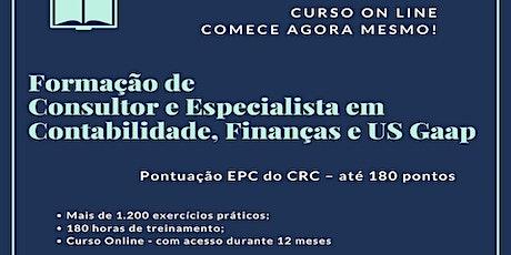 Formação de Consultor e Especialista em Contabilidade, Finanças e US Gaap