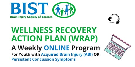 Online Mental Health WRAP Support Group for Youth - Acquired Brain Injury tickets