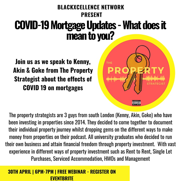 Covid-19-Mortgage updates- What does it mean to you image