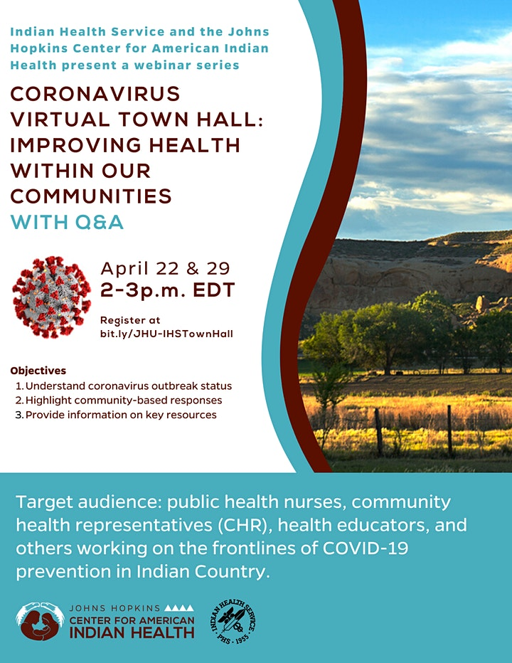 Coronavirus Virtual Town Hall: Improving Health Within Our Communities image