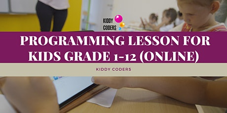 Online Lesson for Kids 6y.o. and up - Programming tickets