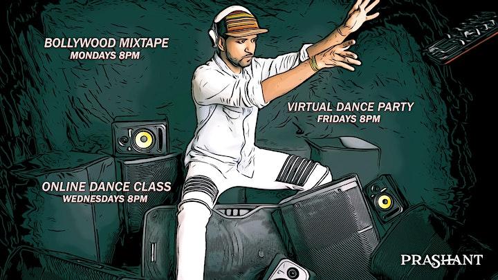 Bollywood-Bhangra Dance Class with Prashant image