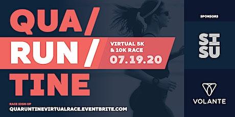 Qua RUN tine 5k and 10k Race tickets