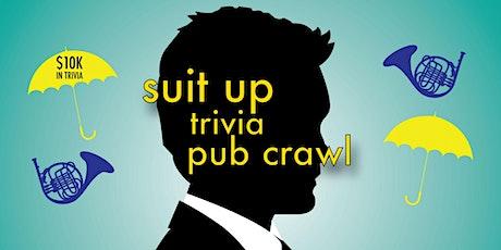 Chicago - Suit Up Trivia Pub Crawl - $10,000+ IN PRIZES! tickets