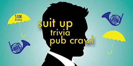 Pittsburgh - Suit Up Trivia Pub Crawl - $10,000+ IN PRIZES! tickets