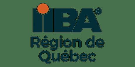 IIBA Région de Québec - Assemblée générale annuelle 2020 - Soirée clôture tickets