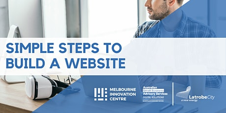 Simple Steps to Build a Website - La Trobe tickets