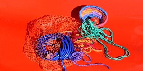 Virtual Creative Reuse Workshop: Basketweaving with Ethernet Cords tickets
