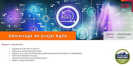 Démarrage de projet Agile billets