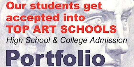ONLINE Portfolio & Audition Prep, HS, College - Open House tickets