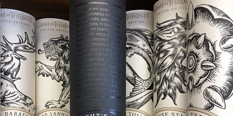 Whiskey Stories: Game Of Thrones & Comedy (Virtual. Home Kit Sent To You!) tickets