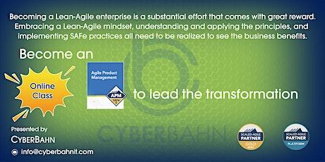 Agile Product Management (APM)-5.0 tickets