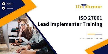 ISO 27001 Lead Implementer Training in Sydney Australia tickets