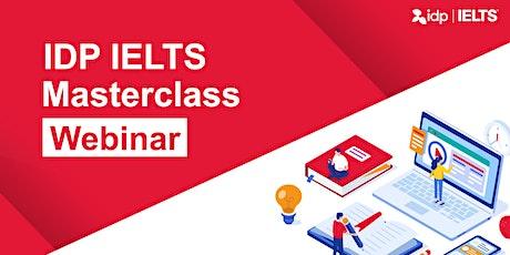 IDP IELTS Masterclass™ Webinar biglietti