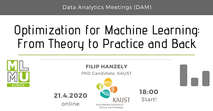 Optimization for ML: From Theory to Practice and Back – F. Hanzely [online] image