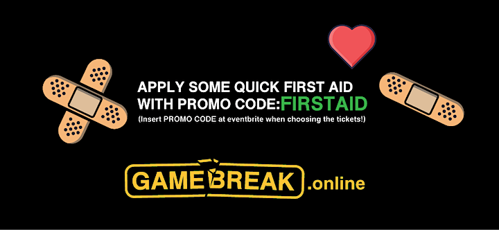 GameBreak.online - Virtual Game Conference +FIRST AID EDITION+ image