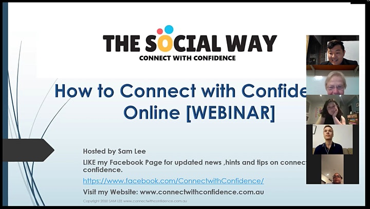 Improve your Social Skills & Connect with Confidence in 2021 image
