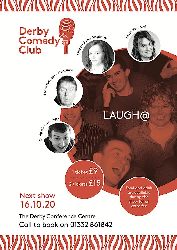 Derby Comedy Club Night 16th October 2020 image