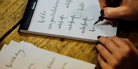 Online One-On-One Modern Calligraphy Lesson tickets