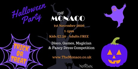 The Monaco Halloween Party 2020 tickets