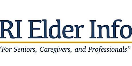 RI Elder Info's Community Family Chat on Zoom tickets