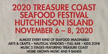 2020 Treasure Coast Seafood Festival – Hutchinson Island tickets