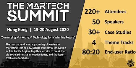 The MarTech Summit Hong Kong tickets