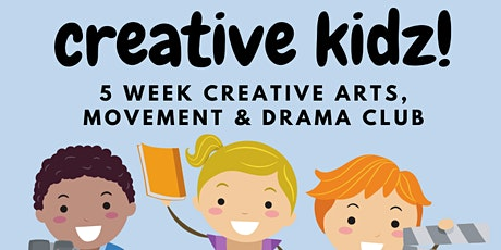 CREATIVE KIDS - online art, drama, play classes tickets