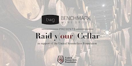 """Benchmark's """"Raid Y(our) Cellar"""" Virtual Wine Tasting tickets"""