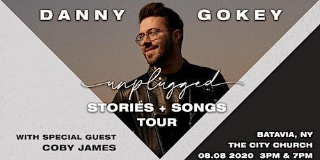 Danny Gokey - Unplugged | Batavia, NY tickets
