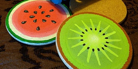 Creative Family Workshop: Summer Fruit Coasters tickets