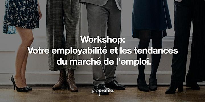 Votre employabilité et les tendances du marché de l'emploi. image