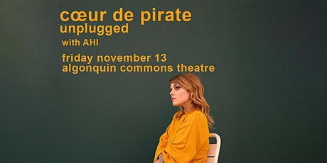 UPDATE COMING SOON: Coeur De Pirate - Unplugged tickets