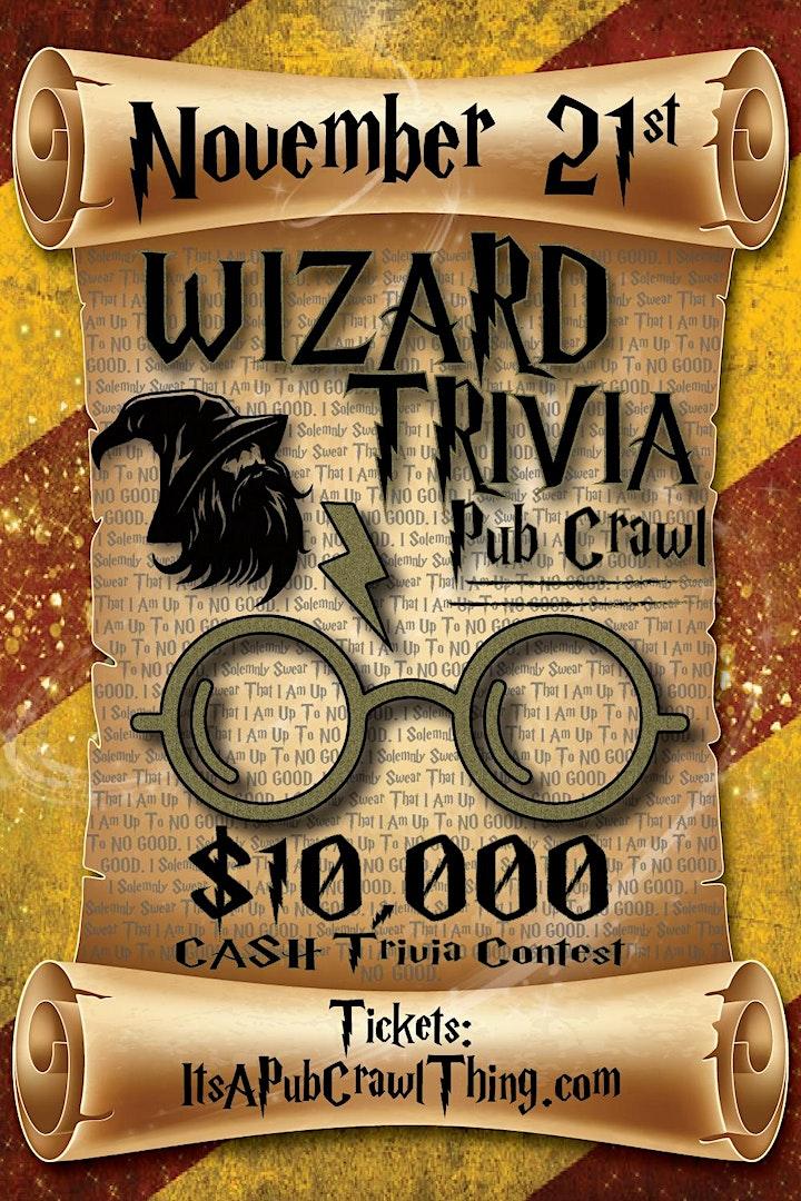 Pittsburgh - Wizard Trivia Pub Crawl - $15,000+ IN TRIVIA PRIZES! image