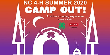 NC 4-H Summer CAMP OUT! 2020 tickets