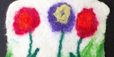 Creative Family Workshop: Wet Felted Coasters tickets
