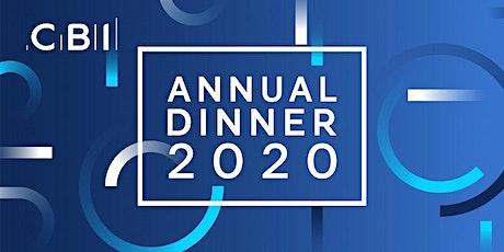 CBI East of England Annual Dinner 2020 tickets
