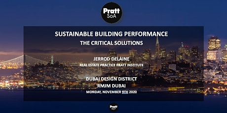 Sustainable Building Performance: The Critical Solutions tickets