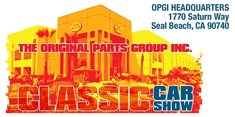 Original Parts Group Classic Car Show tickets