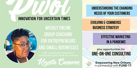 Pivot: Innovation for Uncertain Times tickets