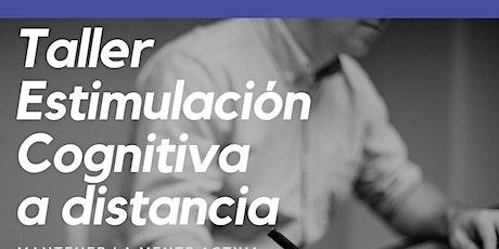Taller ESTIMULACIÓN COGNITIVA A DISTANCIA entradas