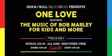 One Love Celebration ft. Music of Bob Marley for Kids tickets