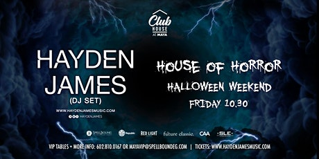 HAYDEN JAMES (DJ SET) tickets
