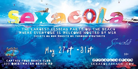 Sexacola Pride 2021 in Pensacola Beach  tickets