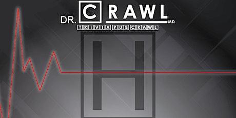 Lexington - Dr. Crawl M.D. Trivia Pub Crawl - $10,000+ IN PRIZES! tickets