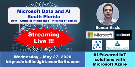 AI Powered IoT solutions with Microsoft Azure by Eumar Assis from Microsoft tickets
