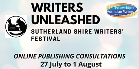 Writers Unleashed - Publishing Consultations tickets