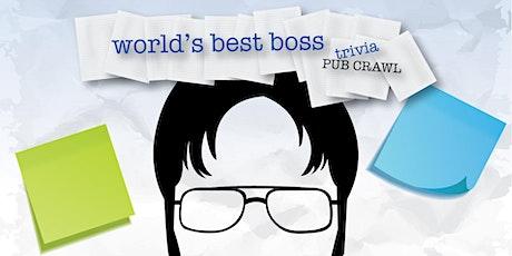 Chicago - World's Best Boss Trivia Pub Crawl - $15,000+ IN PRIZES! tickets